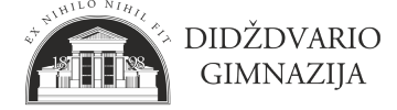 Šiaulių Didždvario gimnazija Logo